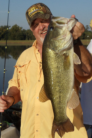 Bass fishing with Daniel Moore