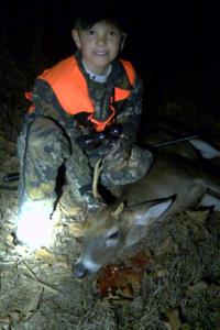 Kaleb Owens 1/1/2012 1st buck
