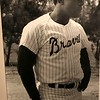 Hank Aaron, a pretty good ball player and nice guy.