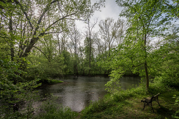 Spending A Restful Moment Along The Greenville Creek In Darke County Ohio 5-11-2016