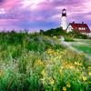 Sunset, Portland Head Light, Cape Elizabeth, Maine