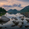 Sunset, Jordan Pond, Acadia National Park, Maine