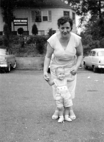 1956 Summer - Rosie with Tom
