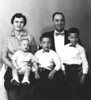 1961 Family portrait in Frederick, Md. I remember when these series of pictures were taken.