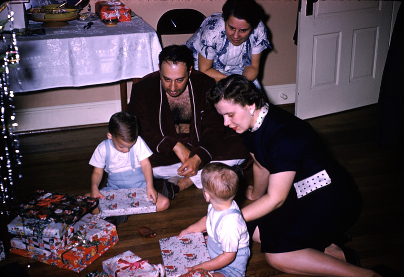 Christmas 1957. ©1957 Thomas Eckart. All rights reserved. <br /> Camera:unknown