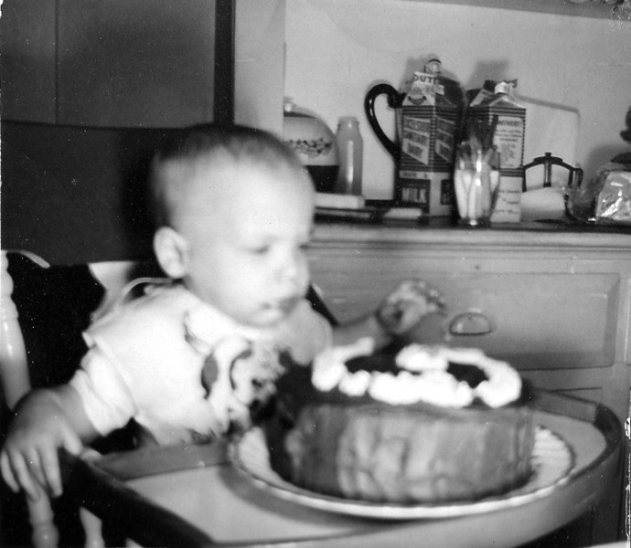 1956 Tom's 1st Birthday 3