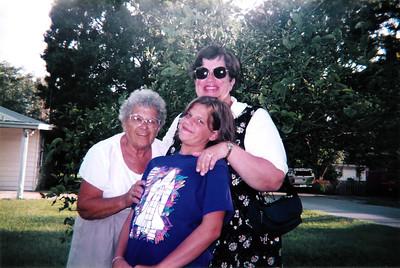 Aunt Marie, Katie & Penny - Largo, FL