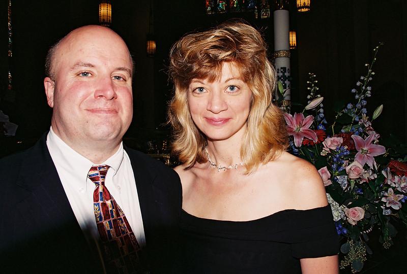 Richard & Maria at the twins baptism. 2004