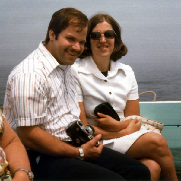 Tom & Penny - Rockport, MA - 1977<br /> I still have that camera.