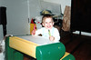 Katie at her play desk.
