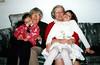 Tristan & Katie with Grandpa & Grandma.