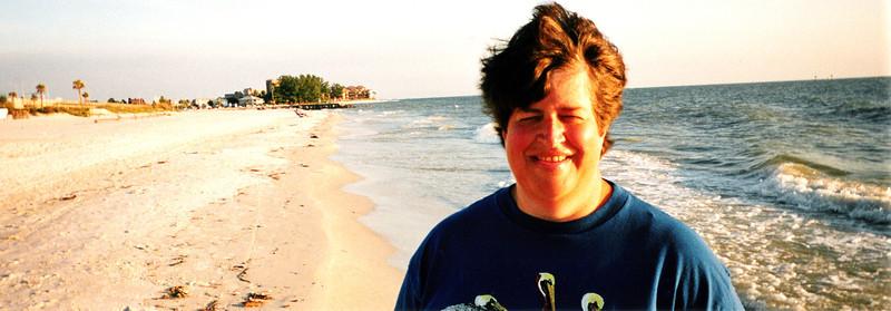 Penny at John's Pass, Maderia Beach, FL. 1999