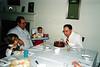 Grandpa Bill's 63rd Birthday with Katie & Tristan. 1988, Bloomfield, CT