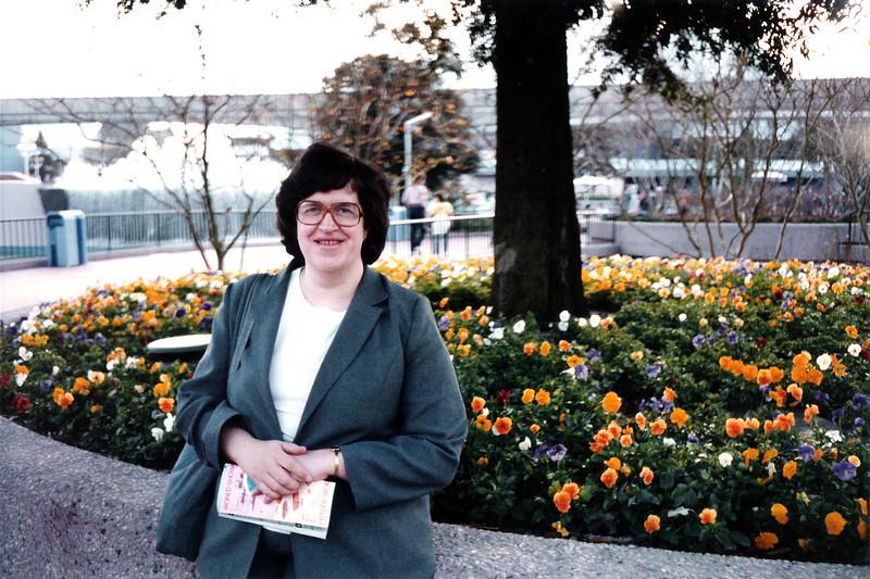 Penny at Epcot. January 1986