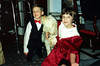 Katie & Tristan with Honey-Bear (the dog). Christmas 1993 - Glastonbury, CT