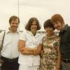 Tom, Penny, Kate & Bruce - Rockport, MA - 1977