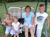 Richie, Mary, Sammy, Maria & Alex. Aug. 19. ©2010 Thomas Stanziale. All rights reserved.