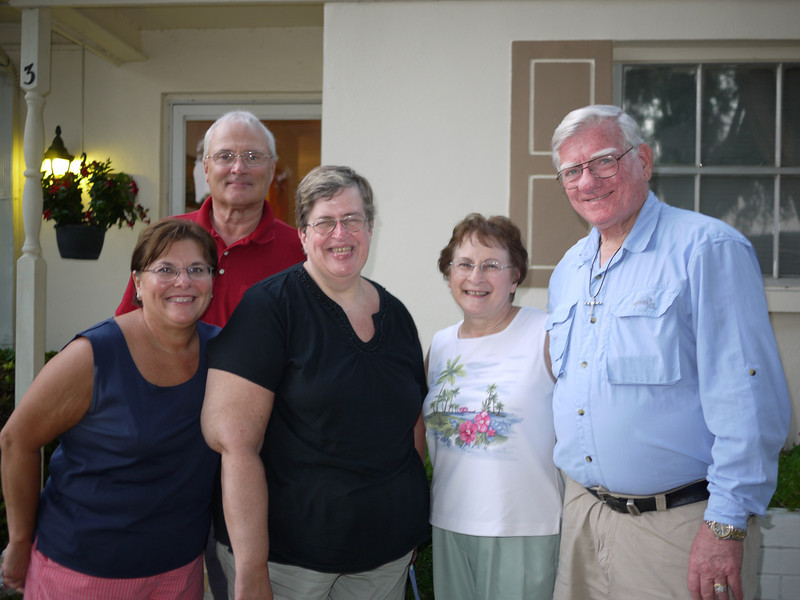 Family - Margie, Henry, Penny, Mary Ann, & Richard - Clearwater, Florida
