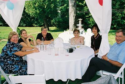 Harriet, Katie, Penny, Maria's mom, Myra & Frank. 2004