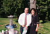 Bill & Myra at the twins baptism celebration in 2004.