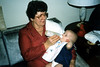 Grandma Ann & Katie. Christmas time 1985
