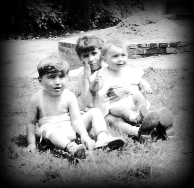 Frank, Mary Ann, & JoAnn Champi. Circa 1949.