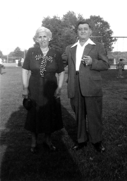 Dad's Aunt Agnes & Uncle Frank