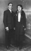 Carmine (Tom) & Eleanor Stanziale Wedding Photograph, Sept. 22, 1922.
