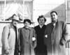 Bill Knapp, Elenor Stanziale, Ann Stanziale & Bill Stanziale. Circa 1954.