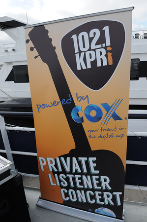 May 27, 2013, San Diego, CA; Lissie performs on the Adventure Hornblower for a KPRI 102.1 FM Private Listener Concert for more than 500 fans.