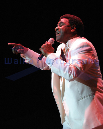 30 July 2004; San Diego, California; Al Green performing at Viejas Concerts in the Park