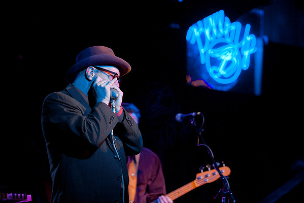 Mark Hummel, Harmonica Blowout 2011 at the Belly Up Tavern in Solana Beach, California