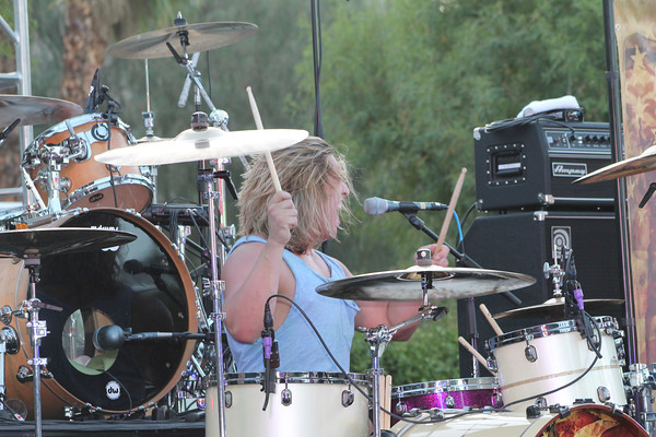 Black Oxygen - Performing at Sunset Sessions Rock! in Palm Springs, California on June 21, 2012.