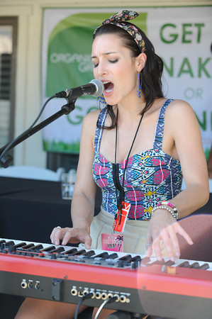 Tora performs poolside on day 2 of Sunset Sessions Rock in Palm Springs, California on June 22, 2012.