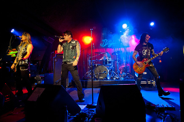 June 8, 2013, Solana Beach, CA; Sunset Sessions Rock Day 3 - Burn Halo at the Belly Up Tavern.