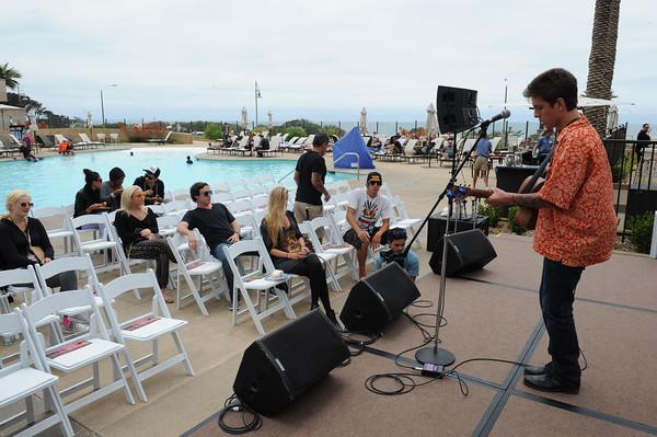 June 8, 2013, Carlsbad, CA; Sunset Sessions Rock Day 3 - Clay Priskorn at the Hilton Carlsbad Oceanfront Resort.