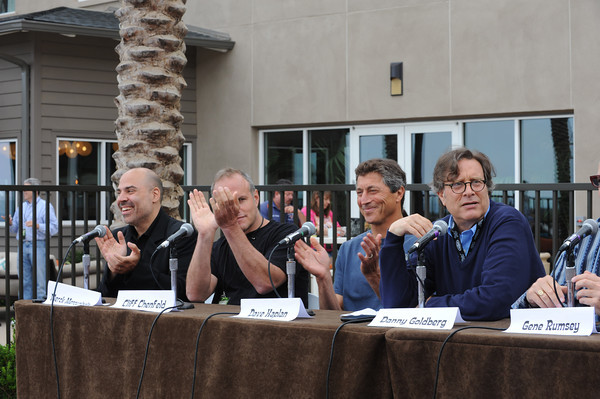 June 7, 2013, Carlsbad CA; Sunset Sessions Rock Day 2 - Moguls of the New World Panel at the Hilton Carlsbad Oceanfront Resort.