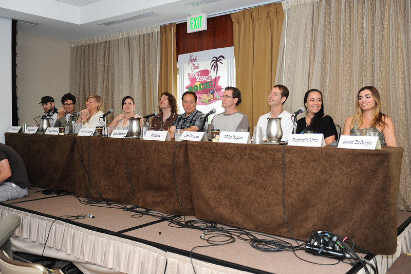 June 8, 2013, Solana Beach, CA; Sunset Sessions Rock Day 3 - Music Meeting Panel at the Hilton Carlsbad Oceanfront Resort.