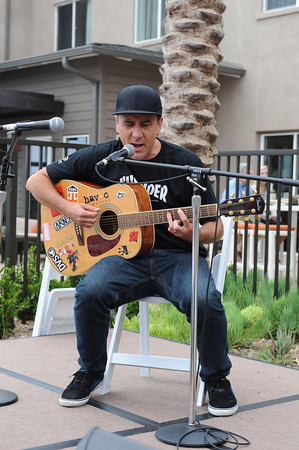 June 8, 2013, Solana Beach, CA; Sunset Sessions Rock Day 3 - Jim Lindberg of Pennywise at the Hilton Carlsbad Oceanfront Resort.