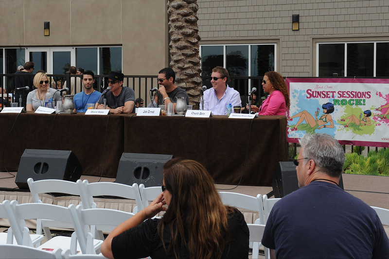 June 8, 2013, Carlsbad, CA; Sunset Sessions Rock Day 3 - Rock's Place Music Supervision Panel at the Hilton Carlsbad Oceanfront Resort.