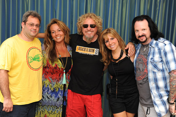 June 7, 2013, Carlsbad CA; Sunset Sessions Rock Day 2 - Sammy Hagar - Up Close and Personal at the Hilton Carlsbad Oceanfront Resort.