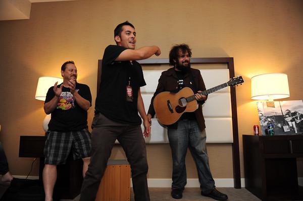 June 6, 2013, Carlsbad CA; Sunset Sessions Rock Day 1 - Super Duper Late Night Lounge - Alumni Jam at the Hilton Carlsbad Oceanfront Resort.
