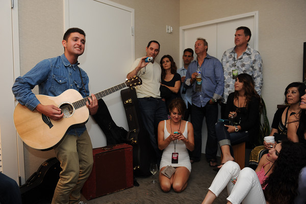 June 8, 2013, Carlsbad CA; Sunset Sessions Rock Day 3 - Super Duper Late Night Lounge - Alumni Jam at the Hilton Carlsbad Oceanfront Resort.