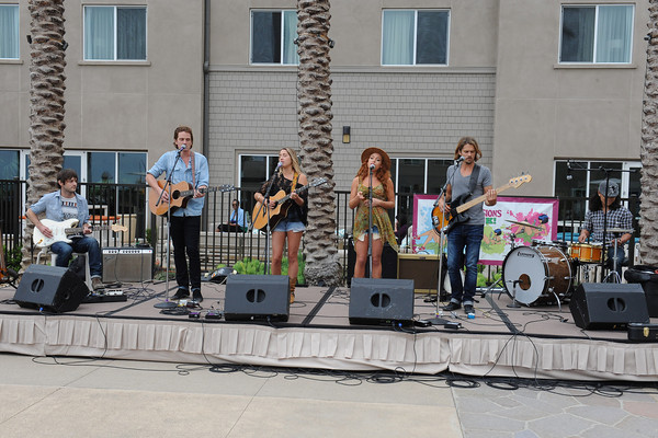 June 6, 2013, Carlsbad, CA; Sunset Sessions Rock Day 1 - The Yellow Marbles at the Hilton Carlsbad Oceanfront Resort.