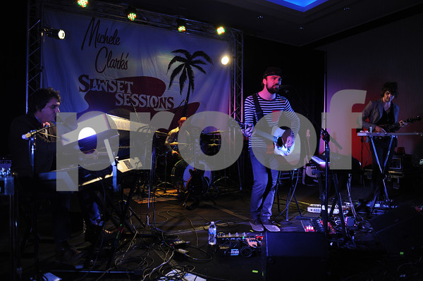 Alpha Rev performs at the Sunset Sessions 2013 on February 21, 2013 at the Grand Hyatt in San Francisco, California