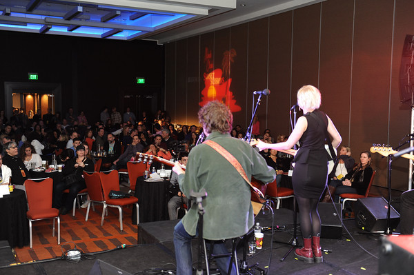 Anna Bergendhal performs at Sunset Sessions 2013 on February 21, 2013 at the Grand Hyatt in San Francisco, California