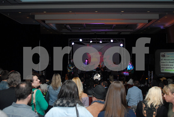 Milo Greene performs at Sunset Sessions 2013 on February 22, 2013 at the Grand Hyatt in San Francisco, California