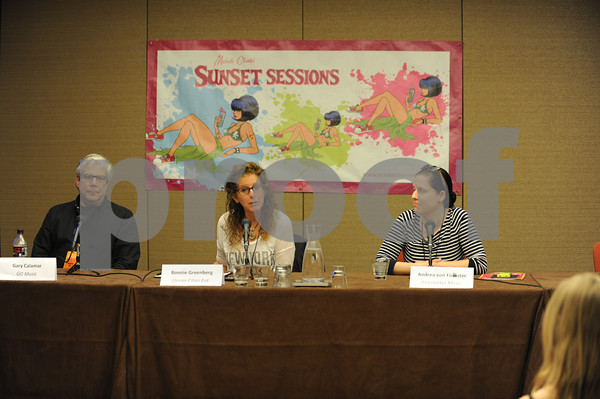 Panel - Every Tune Tells a Story at Sunset Sessions 2013 on February 22, 2013 at the Grand Hyatt in San Francisco, California