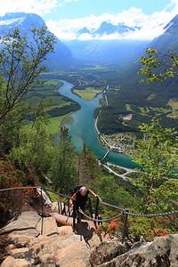 Romsdalseggen Ridge - Romsdalstrappa.