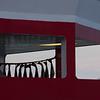Boknafisk- Torsk henger til tørsk på dekket til Hurtigruta som ligger ved kai Tromsø
